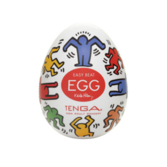 Мастурбатор-яичко Tenga Keith Haring Dance Egg Multi OS